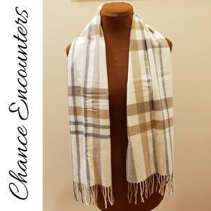 Accessories - CHANCE ENCOUNTERS Cashmink Scarf
